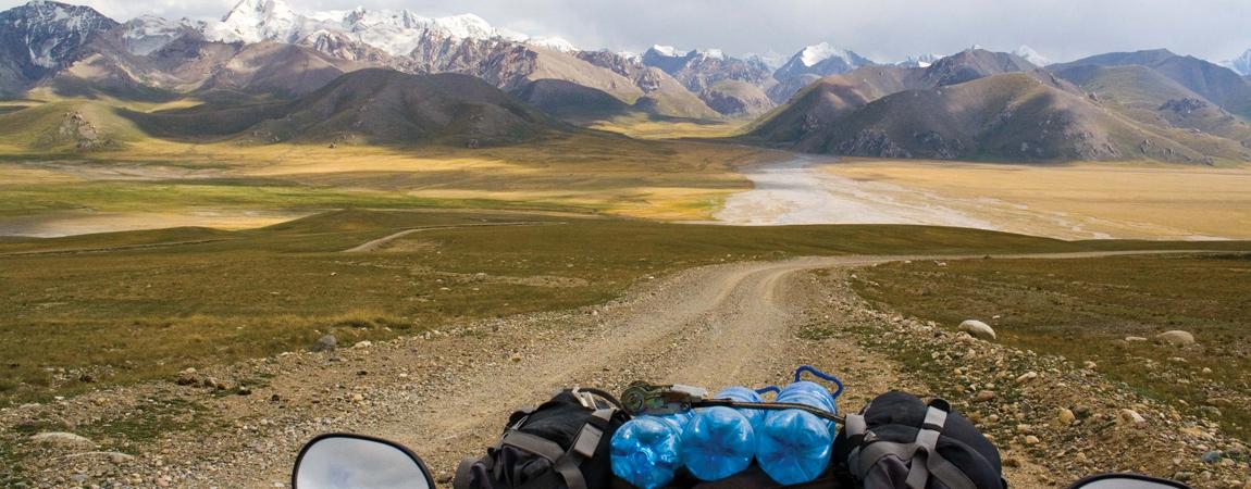 ATV Adventure Tour von Kirgistan in die Taklamakan Wüste (China)